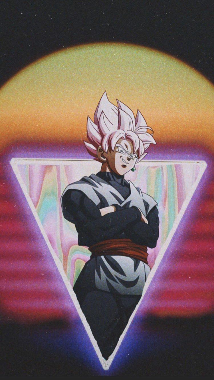 Goku Black Rose By 17silence Dragon Ball Wallpapers Dragon Ball Super Wallpapers Anime Dragon Ball