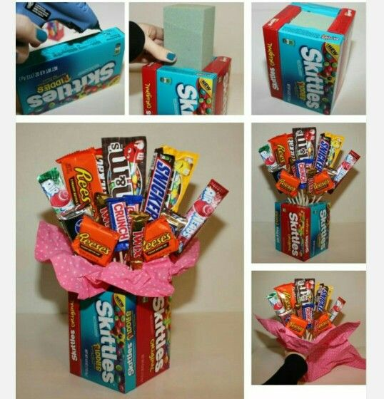 DIY Chocolate Bouquet For Your Friends Birthday ! Gift
