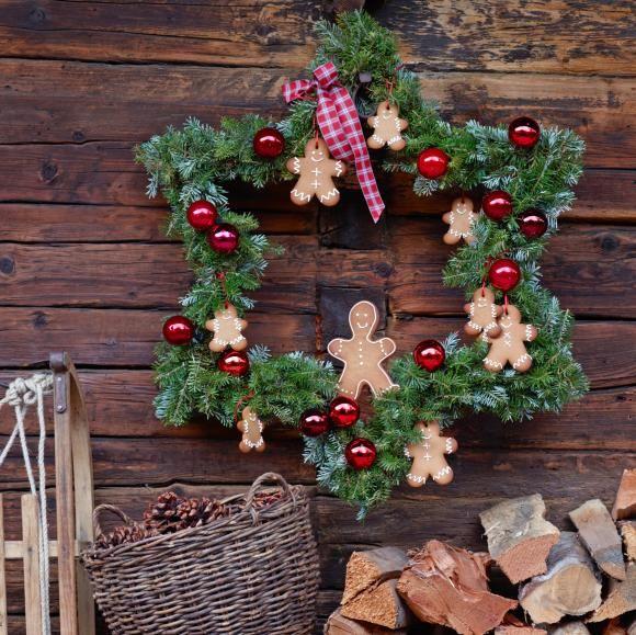 Weihnachtsdeko Selber Basteln weihnachtsdeko selber machen kränze karten mehr basteln