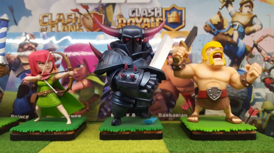 Clash Of Clans Clash Royale Les Figurines Arrivent