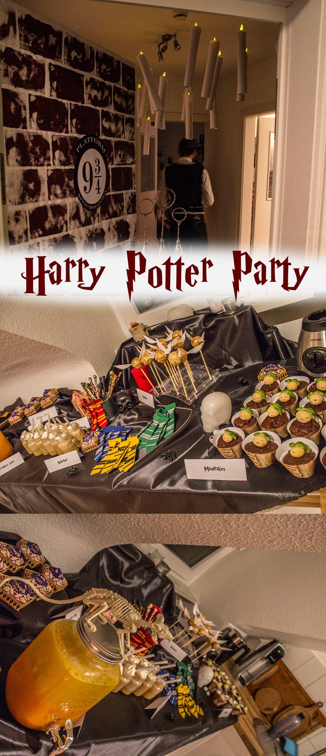 Ein kleiner Einblick in meine Harry Potter WG Party...