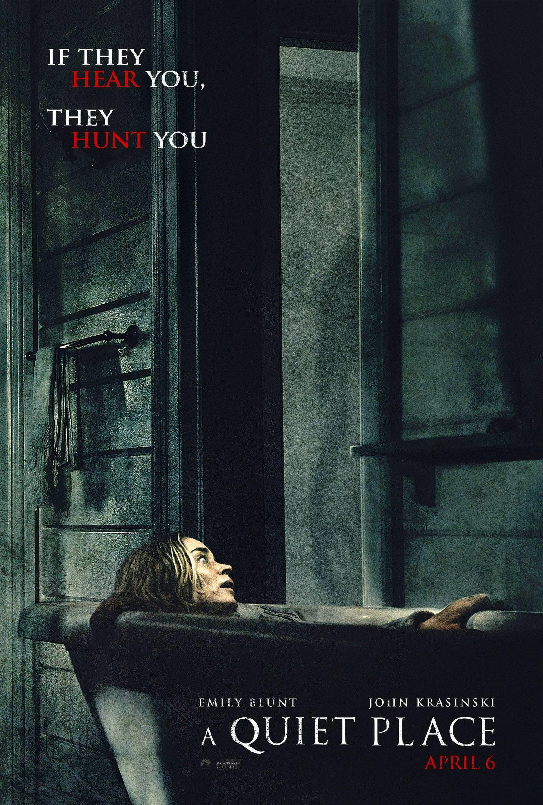 First Poster A Quiet Place Emily Blunt John Krasinski