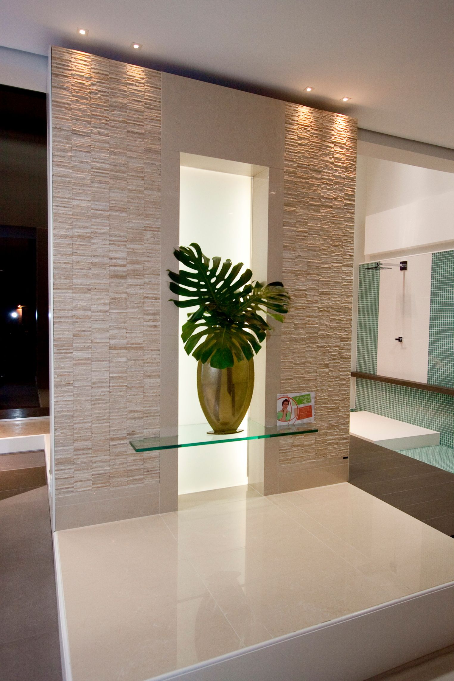 ceramica portobello ambiente Sylvia Thereza Hall de Entrada