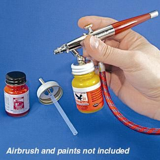 28mm Paint Bottle Airbrush Adapter Bottle Painting Airbrush