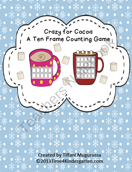 Crazy for Cocoa product from Time4Kindergarten on