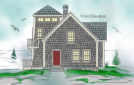 The Lighthouse I By Timberframe Houseplans Post And Beam Building Plans House Plans Cottage Floor Plans Ocean House