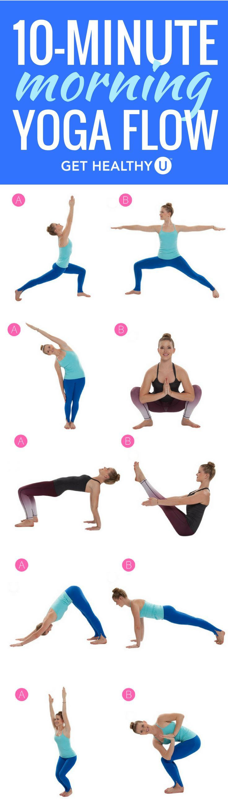 Get Energized With This 10-Minute Morning Yoga Sequence