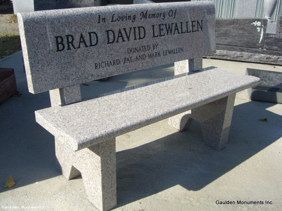 Bench Memorial Benches Salisbury Marble And Granite Bench