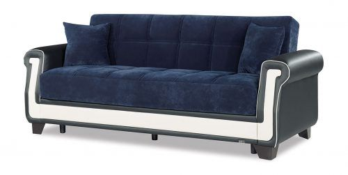 Incredible Proline Blue Convertible Sofa Bed By Casamode Auvnvtc In Alphanode Cool Chair Designs And Ideas Alphanodeonline