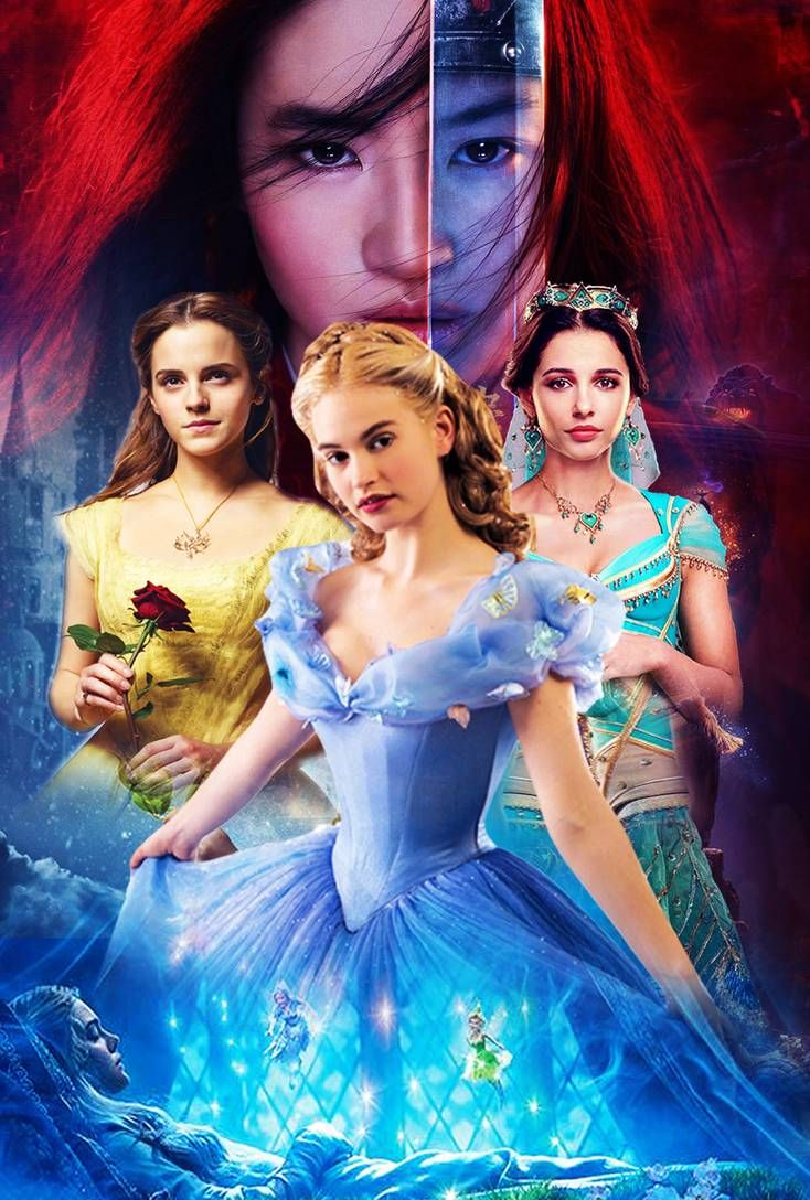 Live-Action Disney Princess Poster by The-Dark-Mamba-995 ...