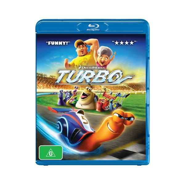 Product: Turbo [Blu-ray] Format: Blu-ray Catalogue No: 56877SBG Studio: Universal Certification: G Release Date: 2014-03-09 Region: Region B Duration: 95 minutes Discs: 1 disc(s) Produced (year): 2013 Colour: Colour Extras: Language(s): English|Interactive Menu