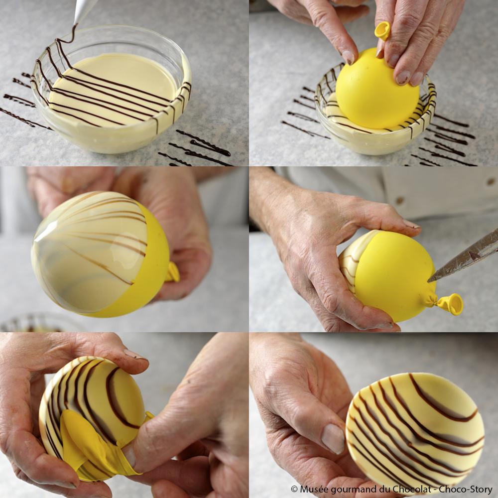 Decouvrez Comment Faire Simplement Une Coque De Chocolat Pour Les