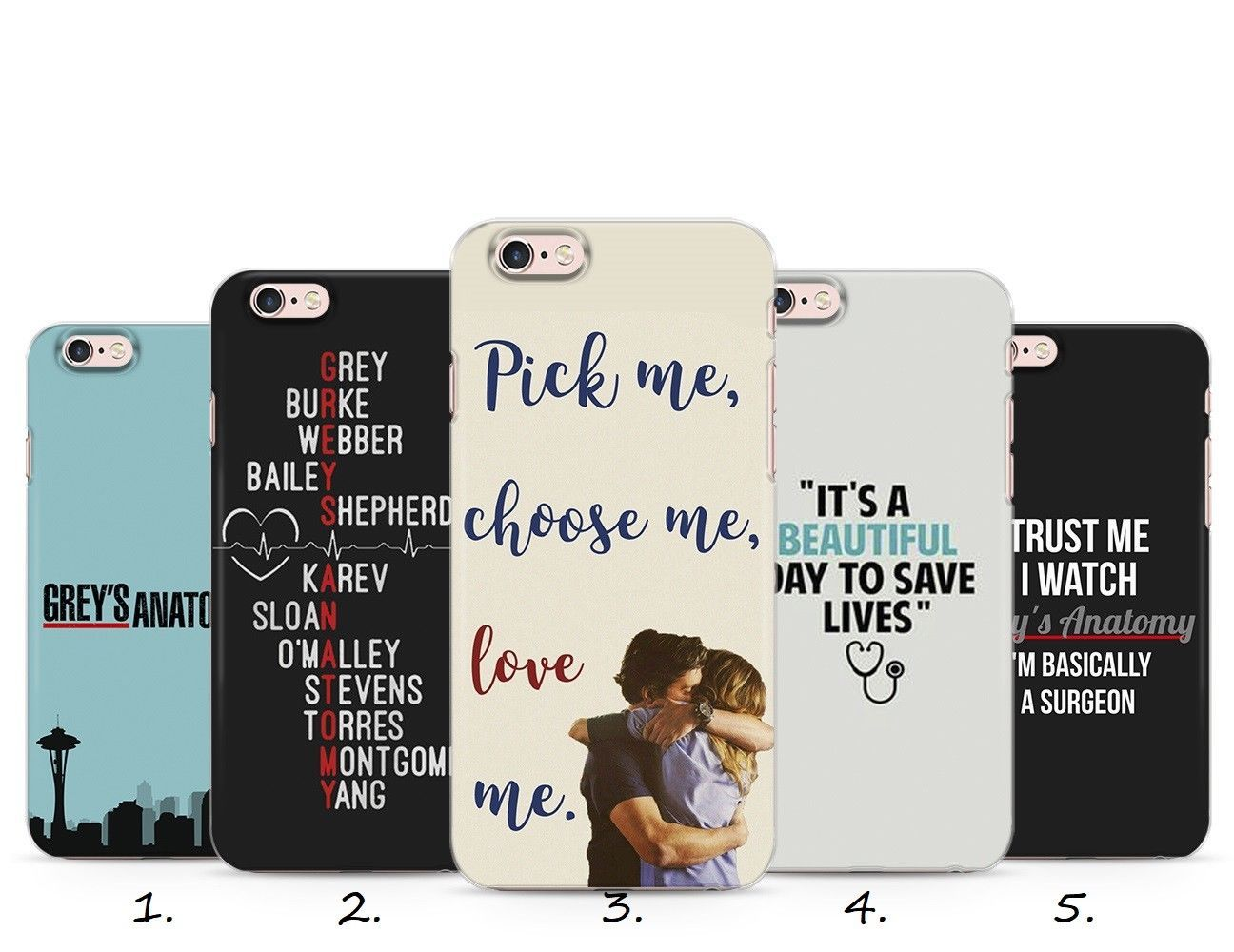 Grey\'s Anatomy Quotes Love Tv Drama Series Phone Case Cover Iphone 4 ...