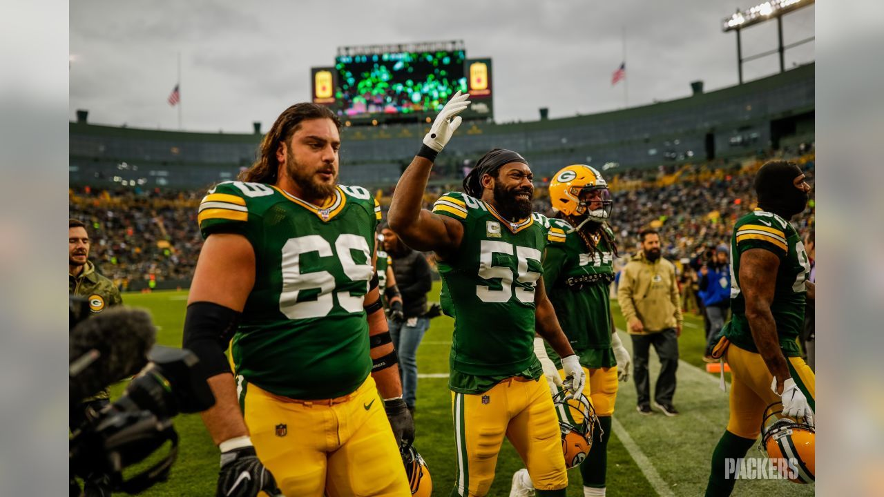 11 10 2019 Dave Bakhtiari And Za Darius Smith In 2020 Green Bay Packers Sports Jersey Packers