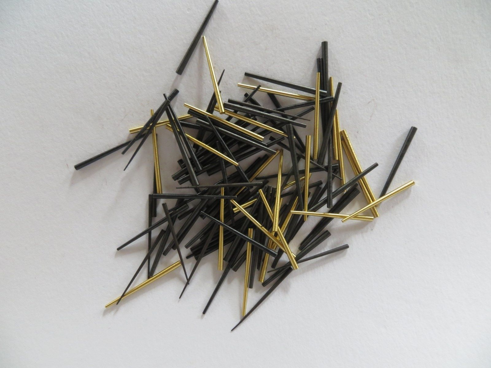 Steel Clock Tapered Pins Package of 100 Assorted sizes
