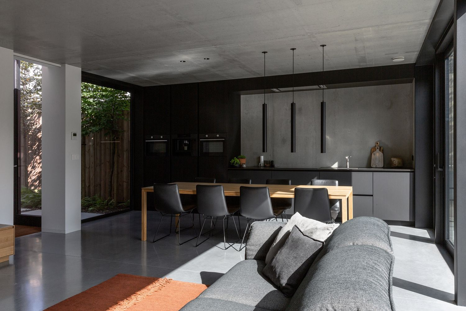 Gallery Of House Hoev Stam Architecten 26 In 2020 House Sitting Area Design House Interior