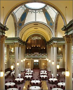 The Grand Hall At Priory In Pittsburgh A Beautiful Historic Building