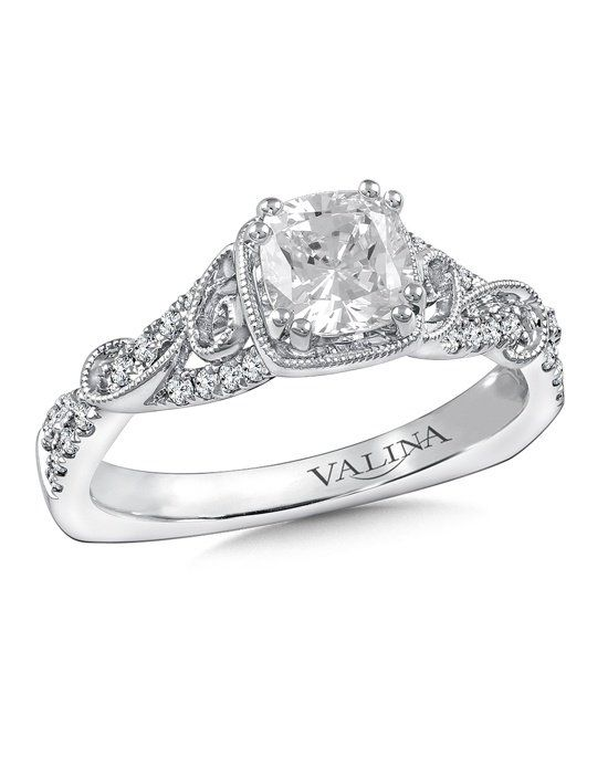 Hey! I found this engagement ring on The Knot! What do you think?