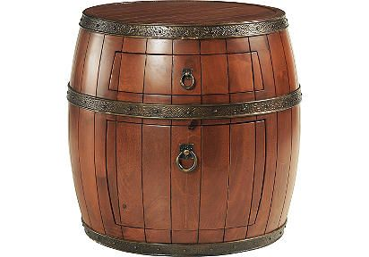 Would Be Perfect For A Pirate Themed Nursery Barrel Bedside Table From Rooms To Go As Side
