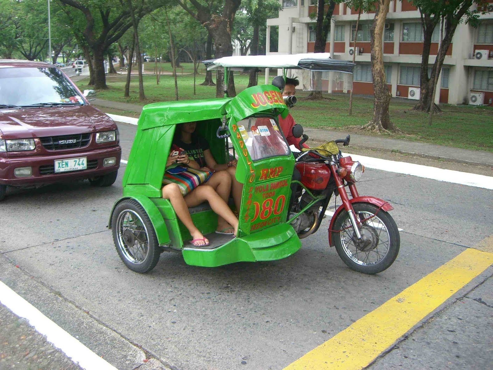 Tricycle philippine taxi