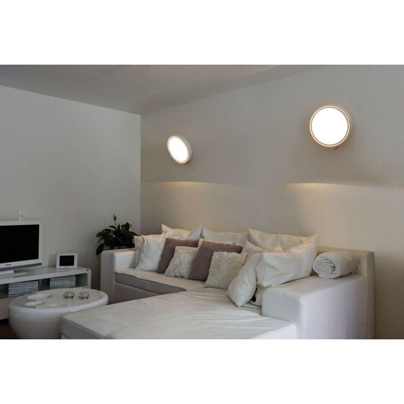 LED Wandeuchte I-Ring von SLV bei Leuchten-Welt #iring #led #slv - led leuchten wohnzimmer