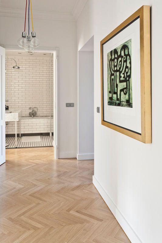 Mieszkanie W Stylu Lat 50 Tych Kuchnia Styl Nowoczesny Aranzacja I Wystroj Wnetrz House Interior Interior Home