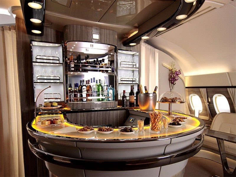 Emirates Unveils A New Lounge Onboard Their A380s Dubai Travel