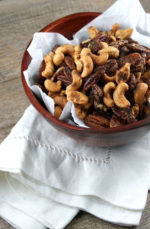 Brown Butter Nuts with Rosemary and Thyme