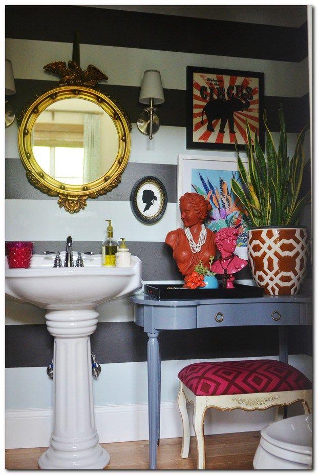 Quirky Decor Ideas 7 The Urban Interior Eclectic Bathroom