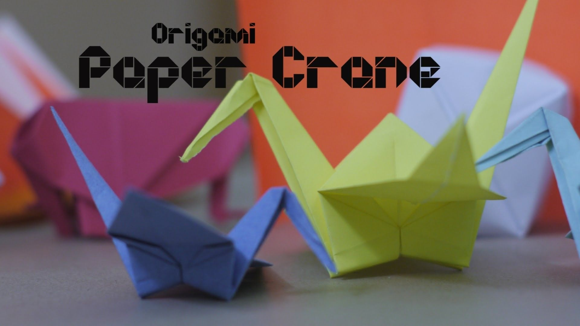 How to make origami paper crane by origami artists origami how to make origami paper crane by origami artists jeuxipadfo Choice Image