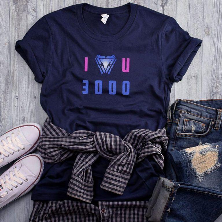 Download I Love You 3000 navy t-shirt tony morgan stark avengers ...