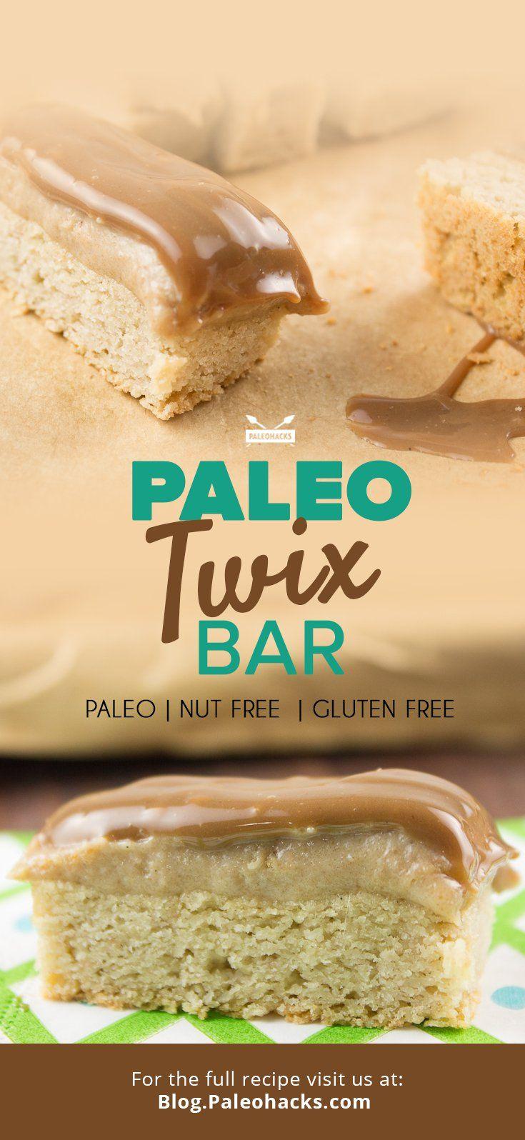 Paleo Twix Bar Recipe Coconut Flour Recipes Twix Bar Paleo