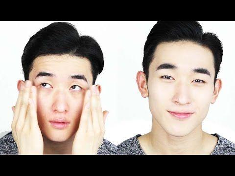 Korean Male Makeup Transformation Youtube Male Makeup Makeup Transformation Powder Makeup Brush