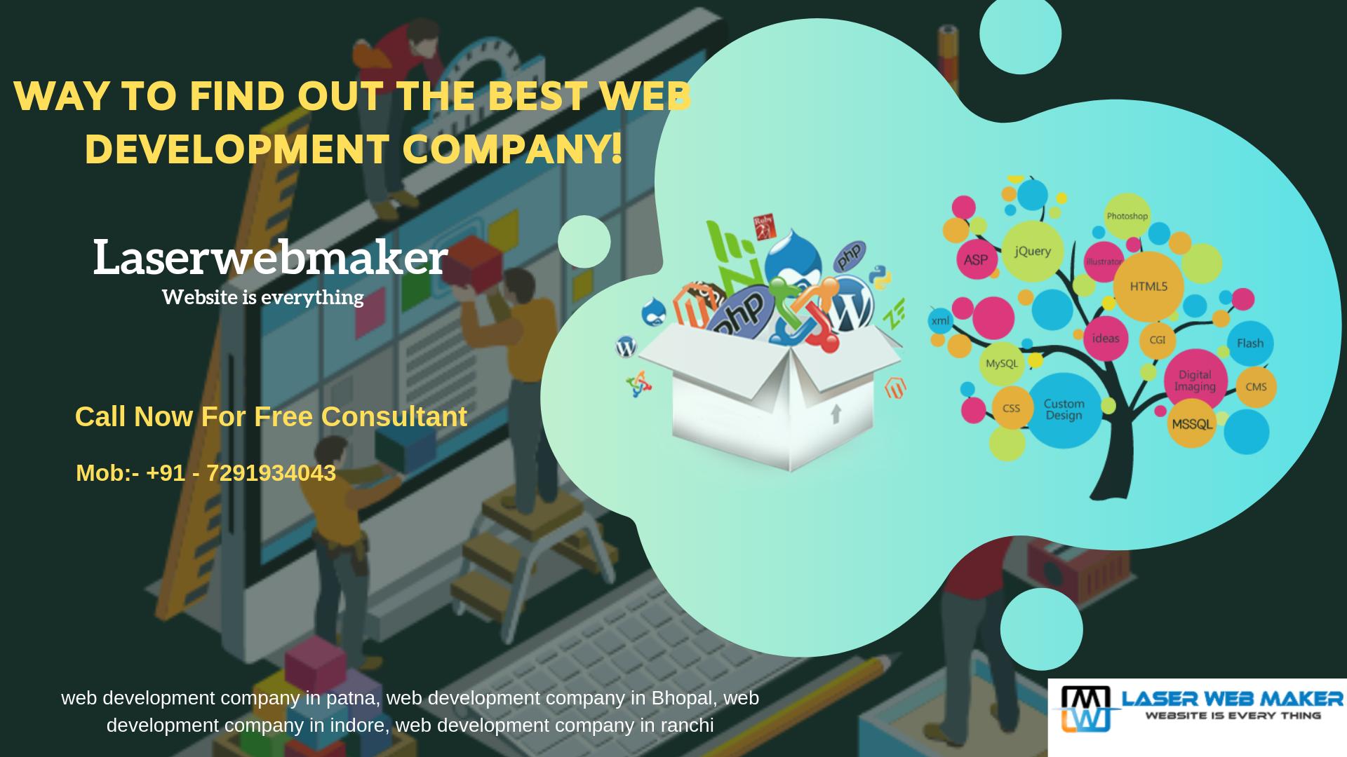 We Are Top Web Designing Company In Bhopal Ranchi And Meerut Web Development Company Web Development Patna