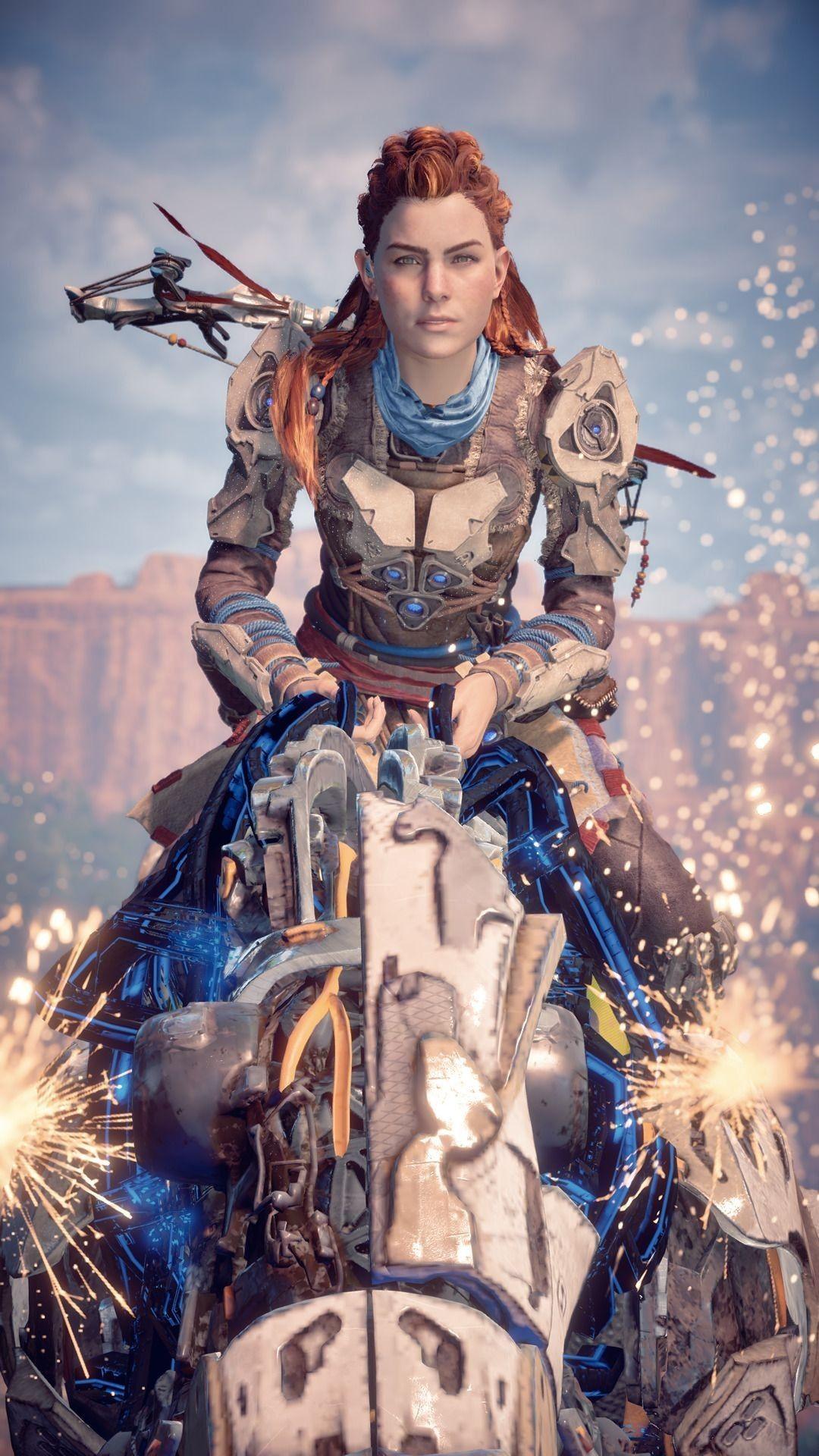 Aloy Horizon Zero Dawn Personagens De Games Arte De Jogos