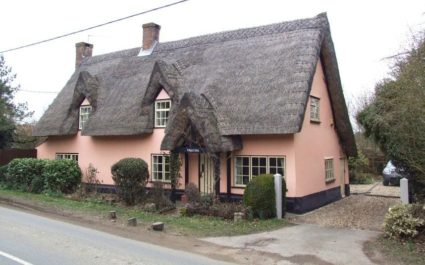 A cottage in Dunston, Suffolk