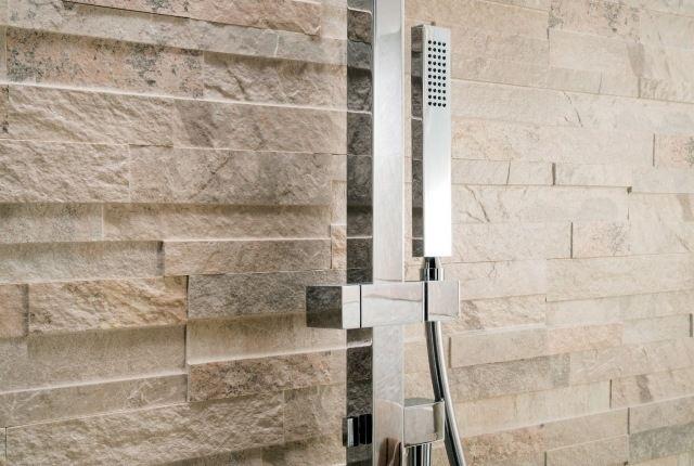 modernes badezimmer fliesen wandverkleidung dusche steinzeug, Hause ideen