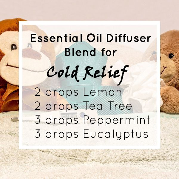Here's an Essential Oil Diffuser Blend Recipe to Help Give You Some Relief from Your Cold - Online Essential Oils Guide