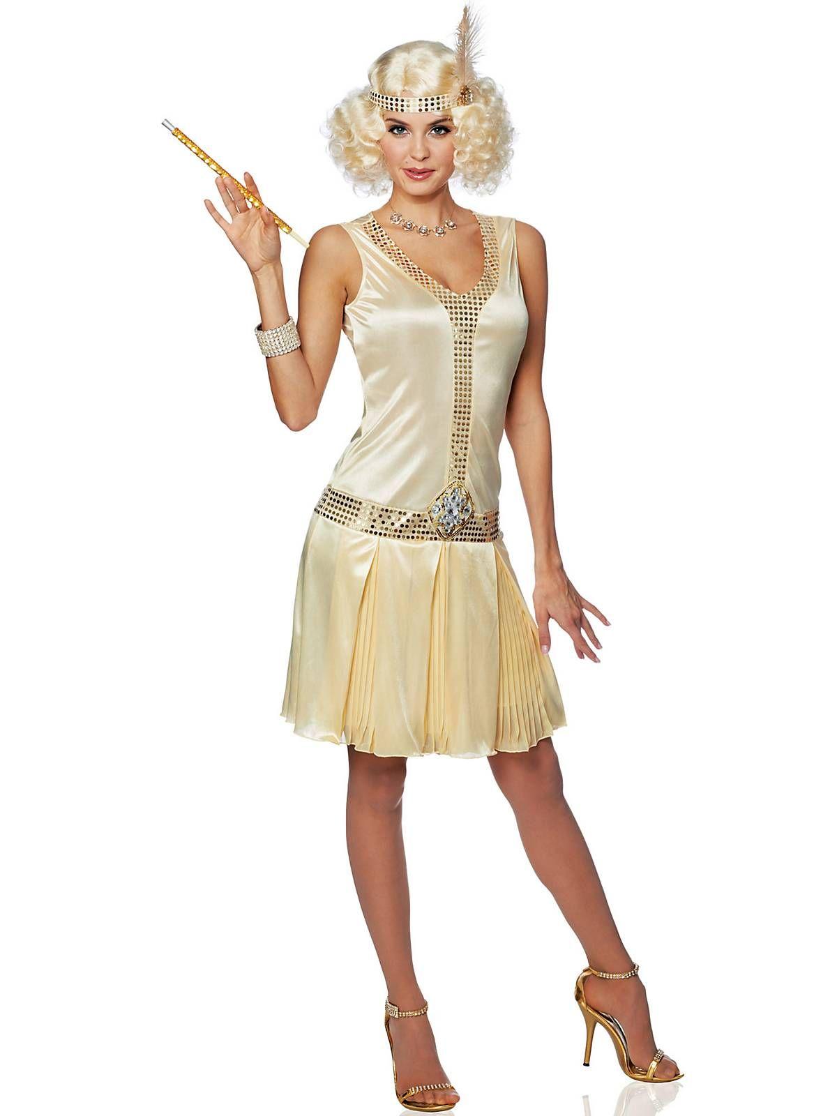 Womens 20's Debutante Flapper Dress Costume | Wholesale 20 ...