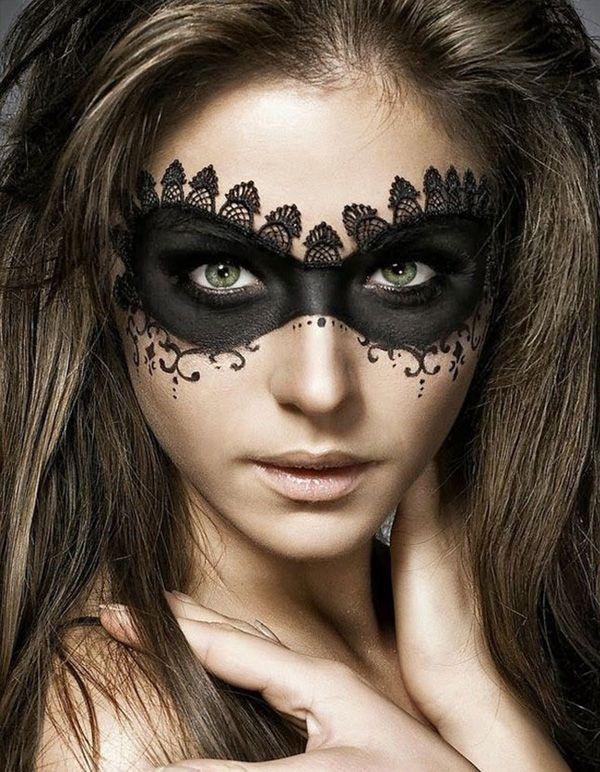 45 Examples of DIY Halloween Makeup Halloween makeup