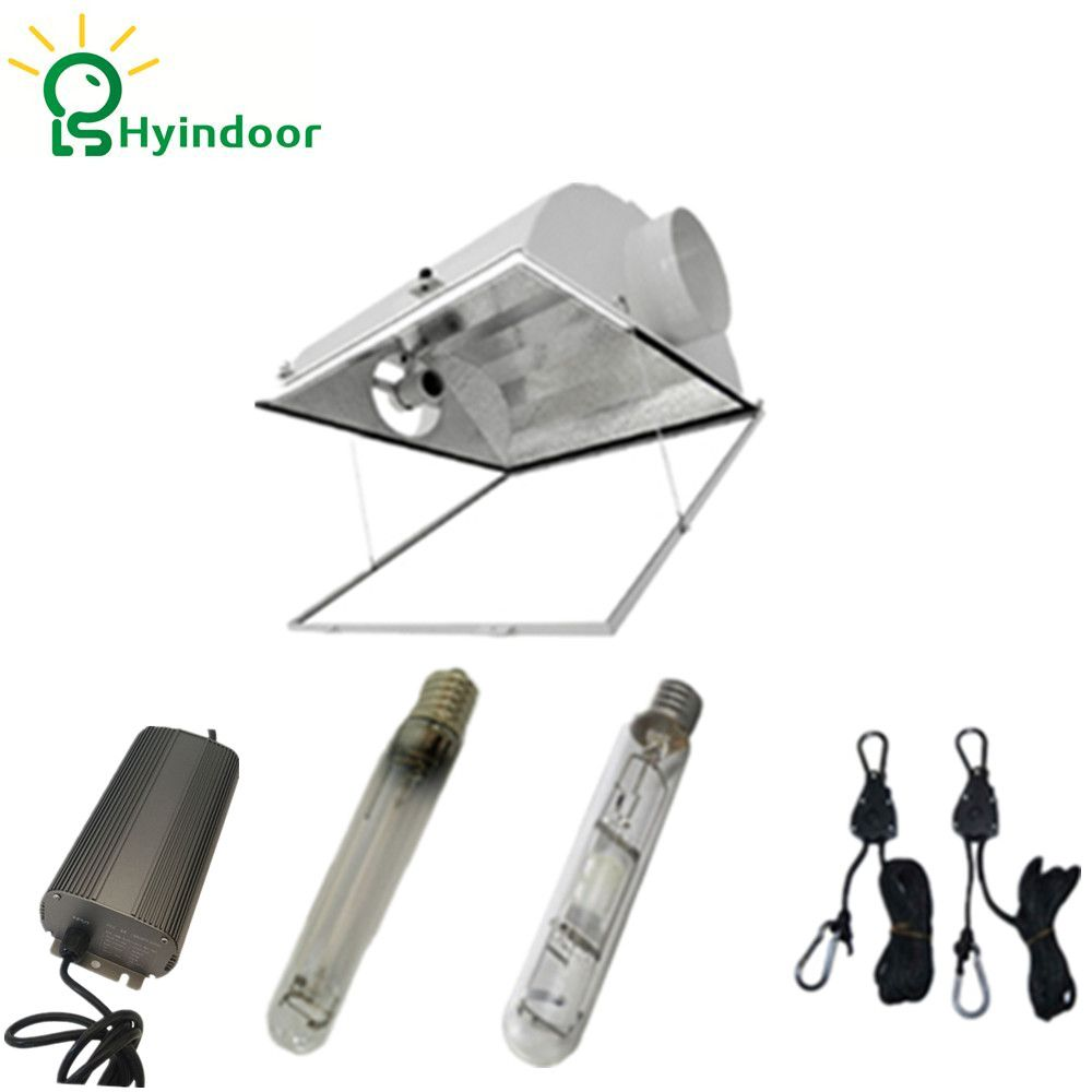 250w 400w 600w 1000w Mh Hps Grow Lights System With Air Cool
