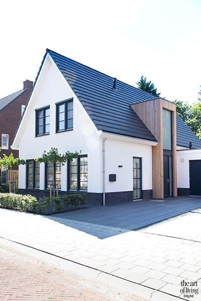 Ländliches und modernes Einfamilienhaus #exteriordesign Einfamilienhaus, A  …,  #Einfamili…