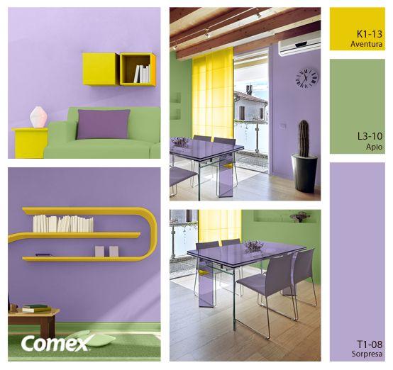 Jugar con los colores es la mejor oportunidad para for Combinacion de colores en decoracion