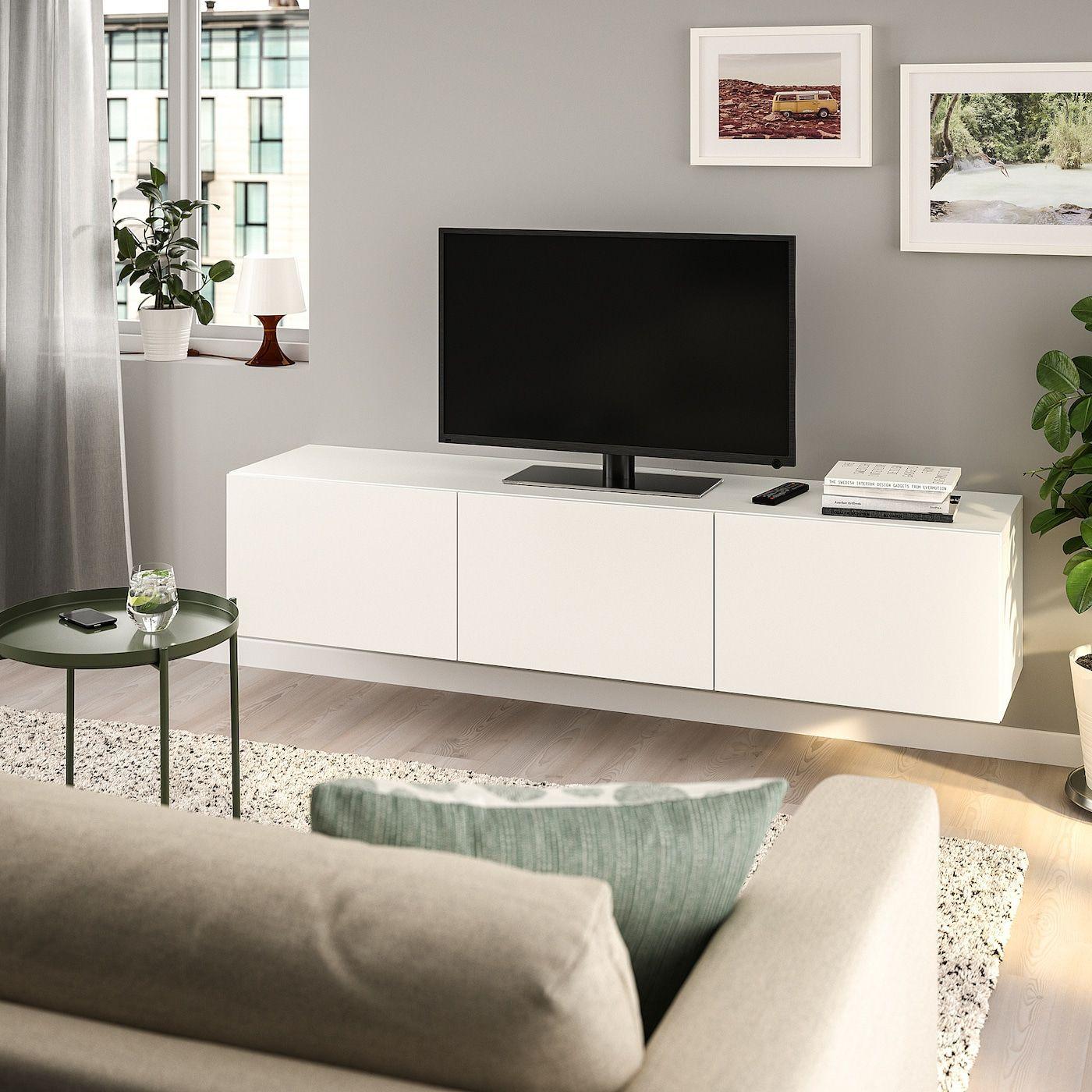 Besta Tv Bank Mit Turen Weiss Lappviken Weiss Ikea Ikea Fikirleri Ev Dekorasyonu Ev Dekorasyon Fikirleri