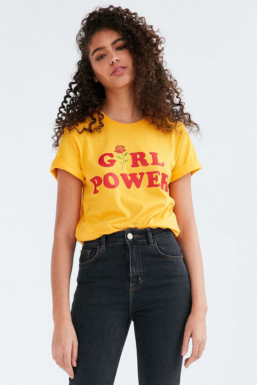 1dc10b608e2a The Style Club Girl Power Tee - Urban Outfitters