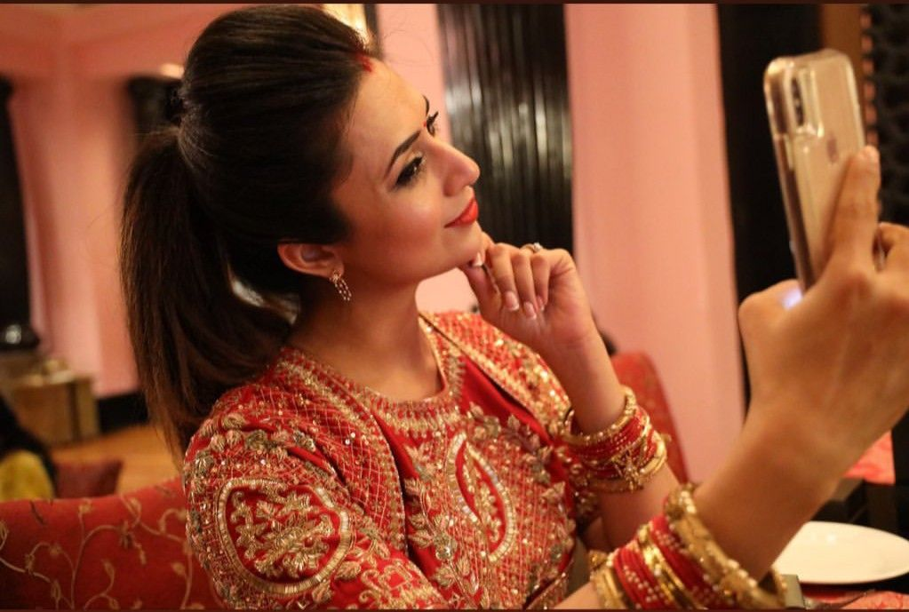 Shavia Divyanka Tripathi Wedding Wedding Hairstyles Wedding Inspiration