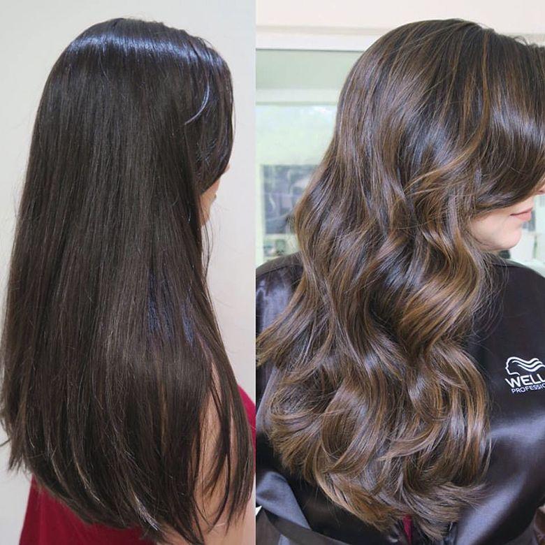moreno,iluminado,2 Chocolate Hair, Hair Color 2018, Beautiful Hair Color,