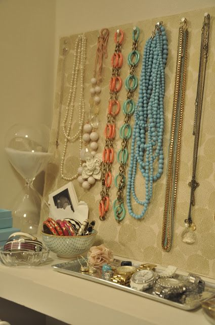 Honey Were Home DIY Jewelry Storage 1316 Pinterest Jewelry