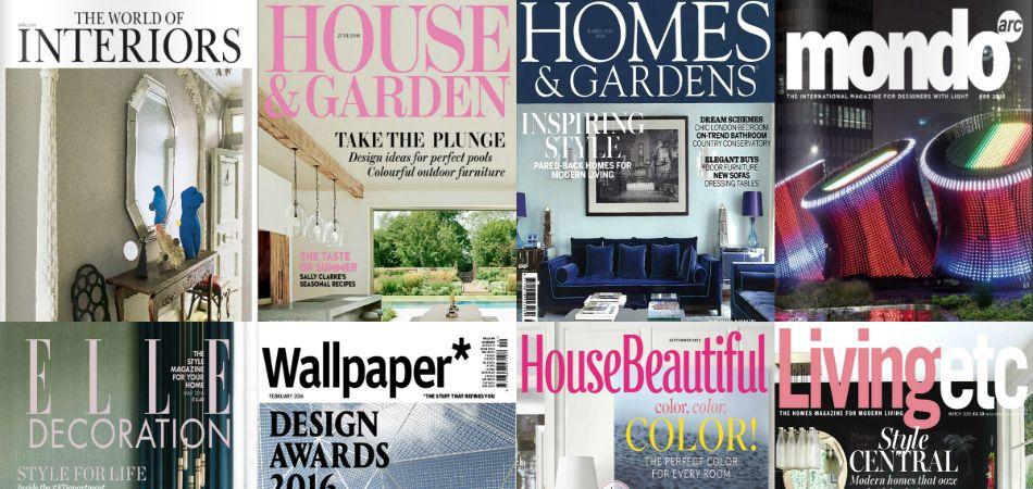 10 Best Interior Design Magazines In Uk Interior Design Magazine