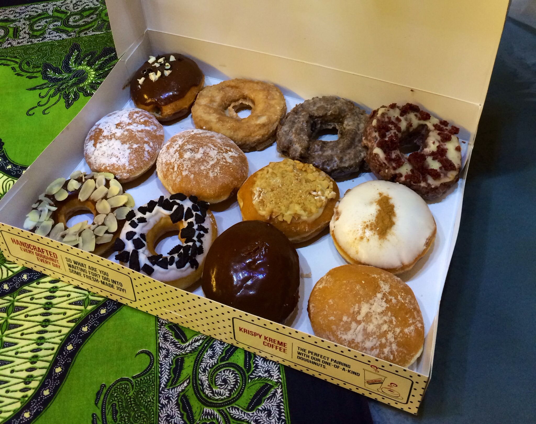 Assorted Donuts By Krispy Kreme Halal Certified Tangs Basement Orchard Rd Singapore Halal Snacks Food Snacks